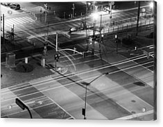 Acrylic Print featuring the photograph Intersection by Heidi Smith