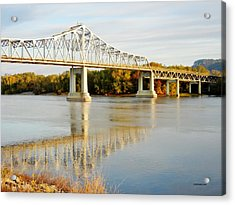 Interstate Bridge In Winona Acrylic Print
