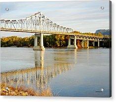 Interstate Bridge In Winona Acrylic Print