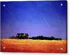 Interstate Landscape #1 Acrylic Print by William Renzulli