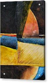 Beyond Acrylic Print by Barbara  Rhodes