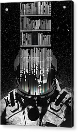 Interstellar Acrylic Print by Edgar Ascensao