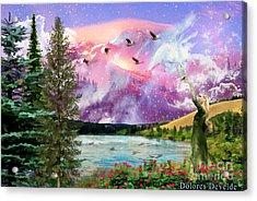 Intimacy With Christ Acrylic Print