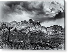 Acrylic Print featuring the photograph Into Clouds by Mark Myhaver