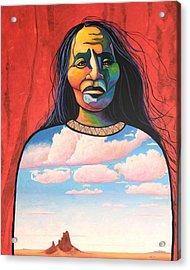 Into Her Spirit Acrylic Print by Joe  Triano