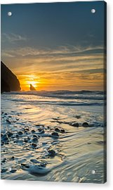 Into The Blue I Acrylic Print by Marco Oliveira