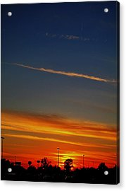 Into The Bluest Sky Acrylic Print