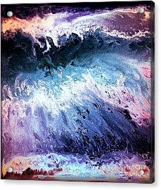 Into The Deep Acrylic Print by Patty Vicknair