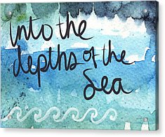 Into The Depths Of The Sea Acrylic Print