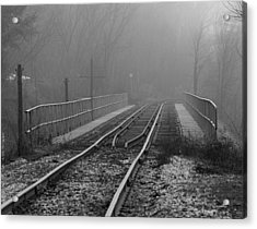 Into The Fog... Acrylic Print