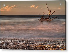 Into The Mystic Acrylic Print by Serge Skiba
