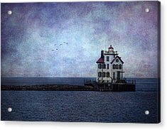 Into The Night Acrylic Print by Dale Kincaid