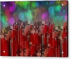 Into The Night Sky Acrylic Print by Jack Zulli