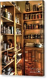 Into The Pantry Acrylic Print by Steven Parker