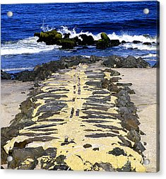 Into The Sea Acrylic Print by Colleen Kammerer