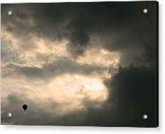 Acrylic Print featuring the photograph Into The Storm by Debi Dmytryshyn