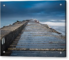 Into The Storm Acrylic Print by Greg Nyquist