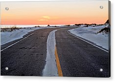 Into The Sunset Acrylic Print by JC Findley