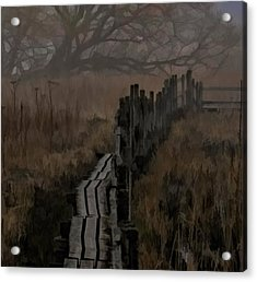 Into The Unknown  By Leif Sohlman Acrylic Print by Leif Sohlman