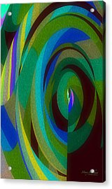 Into The Void Acrylic Print by Mary Machare