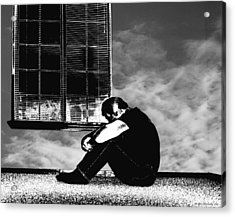 Introspectif De Reveur Acrylic Print by Glenn McCarthy Art and Photography