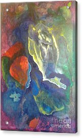 Intuition Acrylic Print by Bebe Brookman