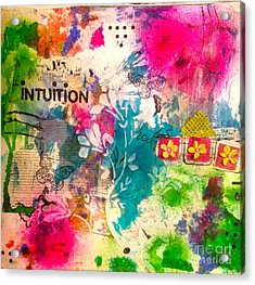 Intuition  Acrylic Print