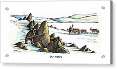 Inuit Waiting Acrylic Print