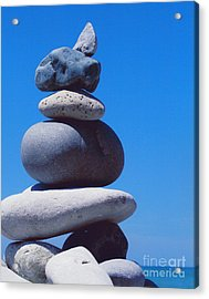 Inukshuk 1 By Jammer Acrylic Print by First Star Art