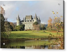 Inveraray Castle Acrylic Print by David Grant