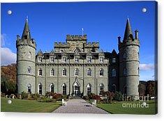 Inveraray Castle Acrylic Print by Maria Gaellman