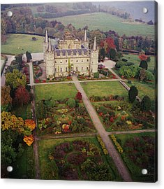 Inverary Castle Acrylic Print by Skyscan/science Photo Library
