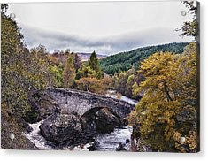 Invermoriston Bridge Acrylic Print