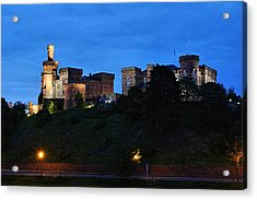 Inverness At Night Acrylic Print