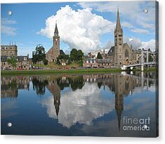 Acrylic Print featuring the photograph Inverness Highlands Of Scotland by Jacqi Elmslie