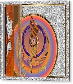 Inw_20a5678sq Washed Puma Stone Acrylic Print