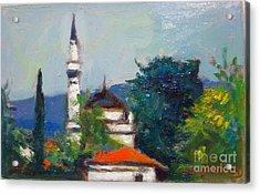Ioannina Acrylic Print by George Siaba