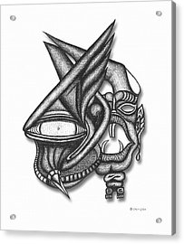 Ion Tiki Acrylic Print