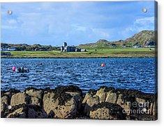 Iona Abbey Isle Of Iona Acrylic Print