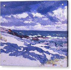 Iona Above Mermaids Acrylic Print