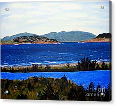 Iona Formerly Rams Islands Acrylic Print by Barbara Griffin