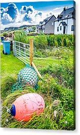 Iona Island Village Scene Acrylic Print