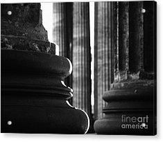 Ionic Columns Saint Petersburg Acrylic Print