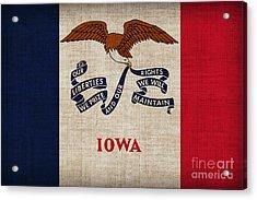 Iowa State Flag Acrylic Print