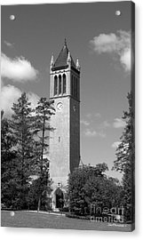 Iowa State University Campanile Acrylic Print by University Icons