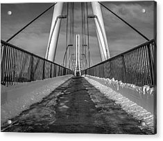 Ipfw Bridge Acrylic Print