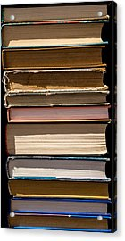 iPhone Case - Pile Of Books Acrylic Print by Alexander Senin