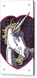 iPhone-Case-Unicorn-2 Acrylic Print