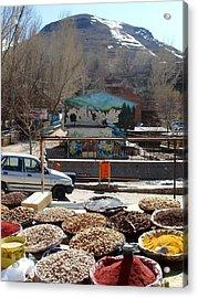 Iran Kandovan Spices Acrylic Print by Lois Ivancin Tavaf