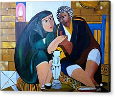 Iraqi Tea Acrylic Print by Rami Besancon